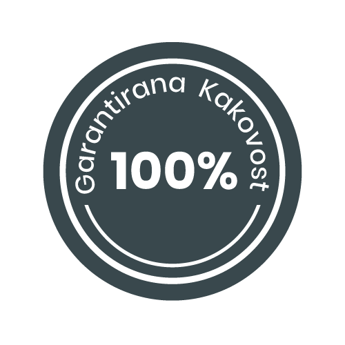 Garantiramo 100% kvaliteto